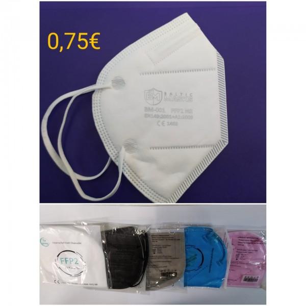 Tie Xiong Μάσκα Υψηλής Προστασίας FFP2 NR   ≥ 95%  1τμχ σε ατομική συσκευασία