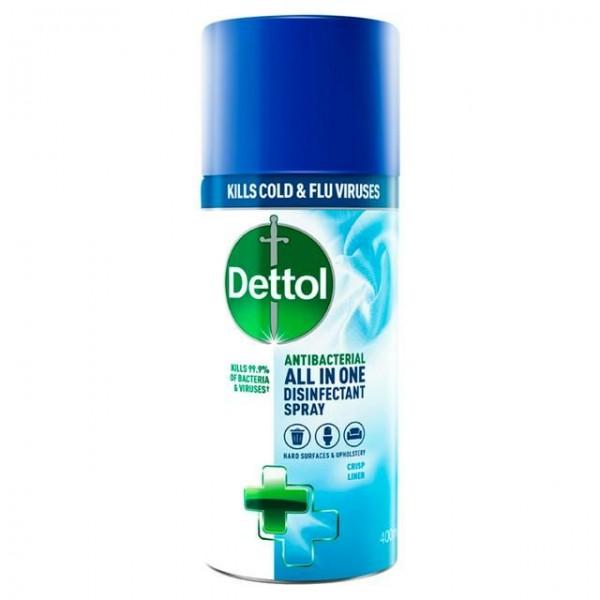 Dettol All in One Spray Crisp Linen 400 ml
