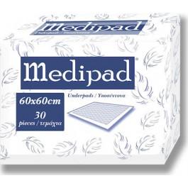 Υποσέντονα Medipad   60χ60 cm 30 Τεμαχίων